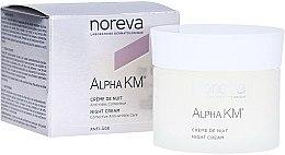 Kup Krem przeciwzmarszczkowy do twarzy na noc - Noreva Laboratoires Alpha KM Corrective Anti-Wrinkle Care Night Cream