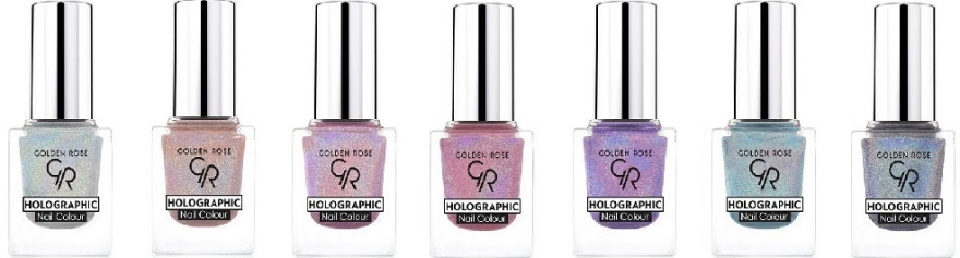 Lakier do paznokci - Golden Rose Holographic Nail Colour — фото N2