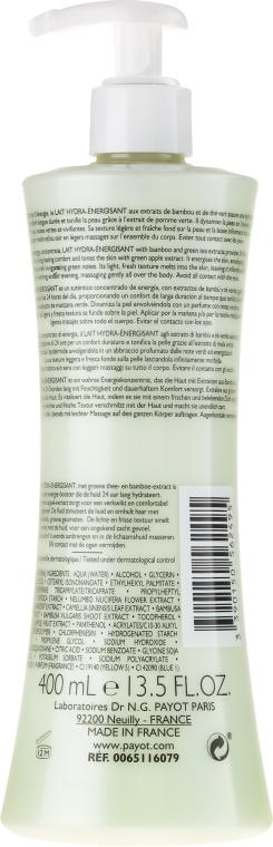 Nawilżające mleczko do ciała - Payot Corps Energisant Lait Hydra-Énergisant — фото N2