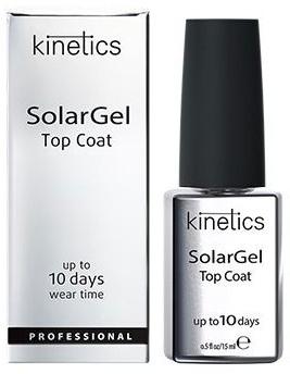 Top coat do lakieru żelowego - Kinetics Top Coat Solar Gel Up To 10 Days