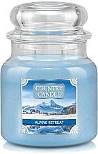 Kup Świeca zapachowa w słoiku - Country Candle Alpine Retreat