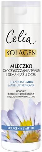 Mleczko do oczyszczania twarzy i demakijażu oczu Kolagen i świetlik - Celia Kolagen