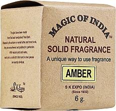 Kup Naturalne perfumy w kremie, Amber - Shamasa