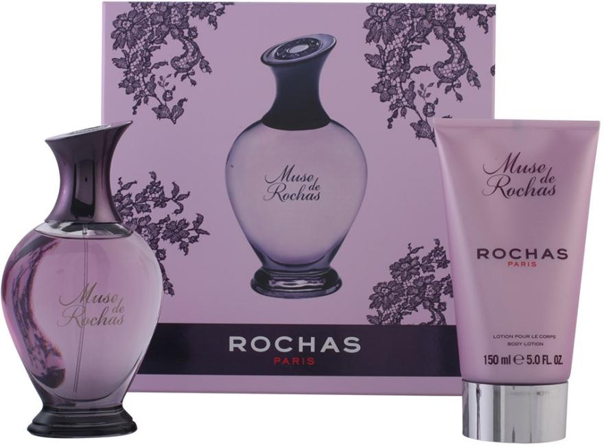 Rochas Muse de Rochas - Zestaw (edp 100 ml + b/lot 150 ml) — фото N1