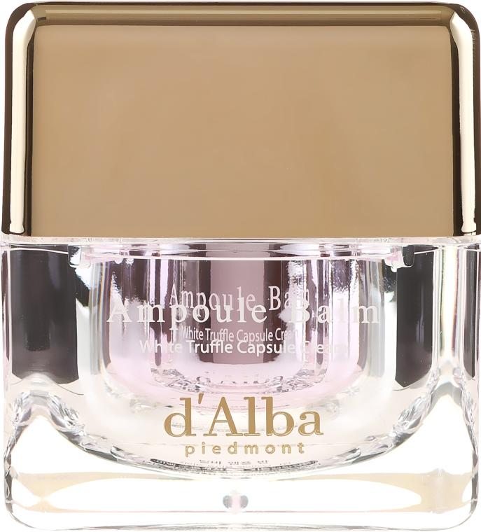 Nawilżający krem do twarzy z ekstraktem z białej trufli - D'Alba Ampoule Balm White Truffle Whitening Cream — фото N2