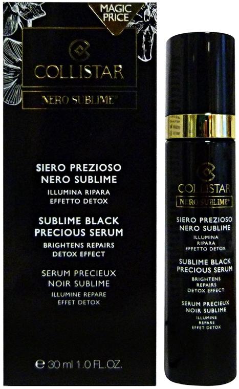 Rozświetlające serum przeciwstarzeniowe do twarzy - Collistar Nero Sublime Black Precious Serum