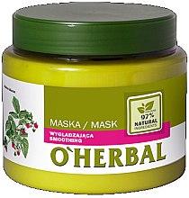 Kup Wygładzająca maska do włosów z ekstraktem z malin - O'Herbal