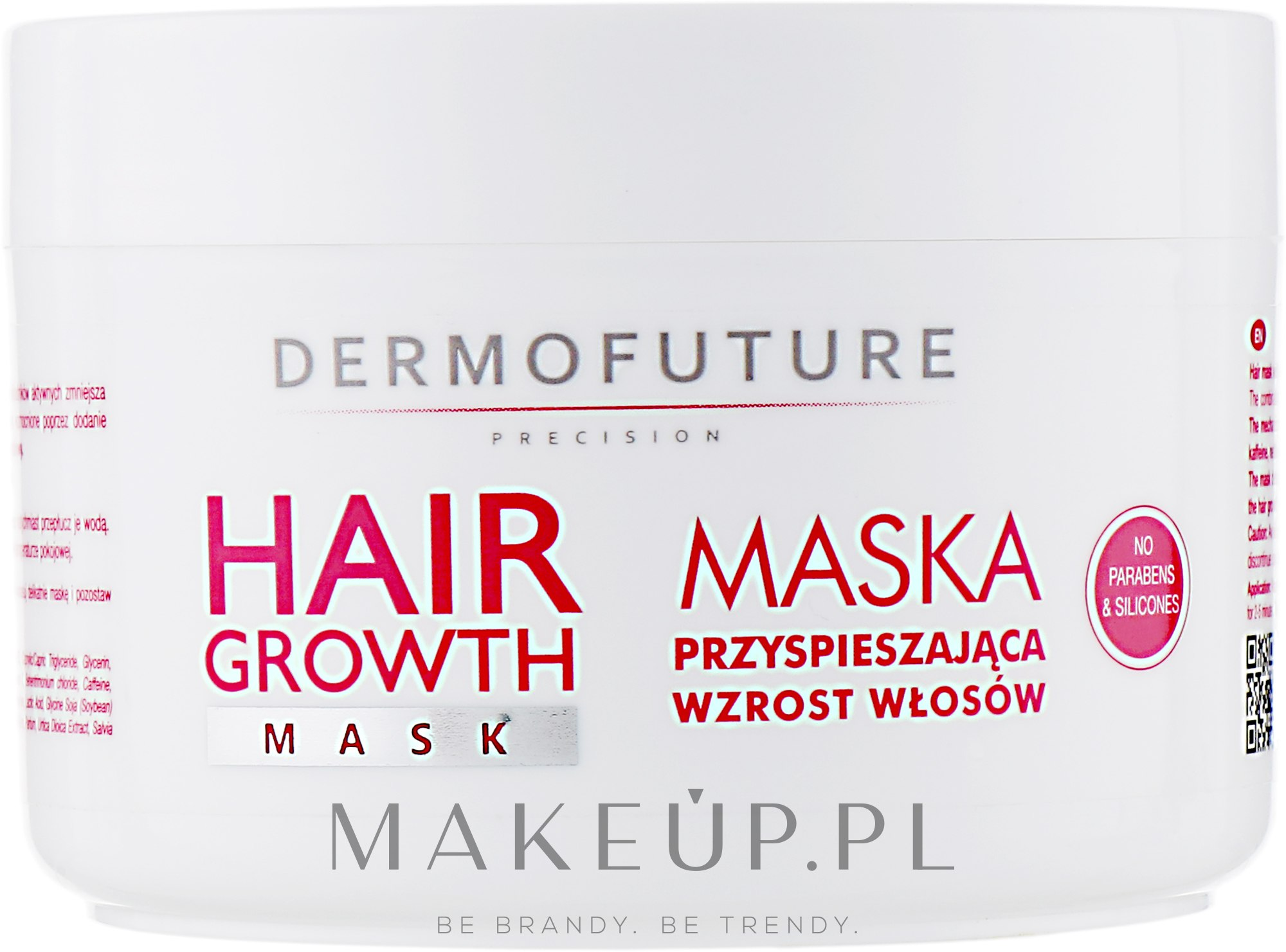 Maska przyspieszająca wzrost włosów - DermoFuture Hair Growth Mask — фото 300 ml