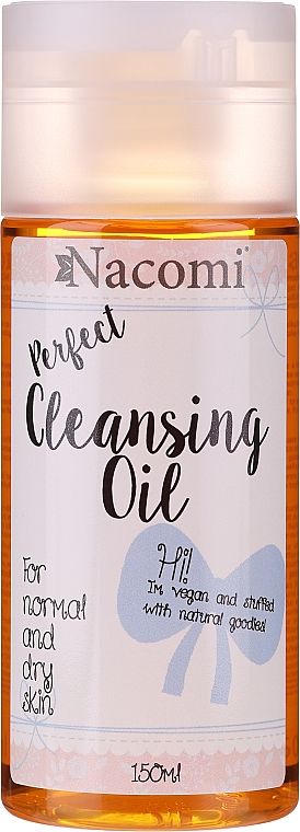 Olejek do demakijażu do cery normalnej i suchej - Nacomi Perfect Cleansing Oil