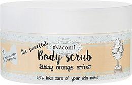Kup Cukrowy peeling do ciała Pomarańczowy sorbet - Nacomi