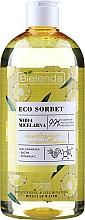 Kup Nawilżająco-rozświetlająca woda micelarna - Bielenda Eco Sorbet Moisturizing&Illuminating Micellar Water