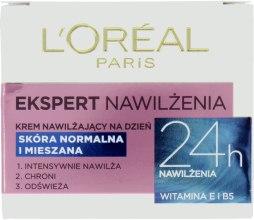 Kup Krem nawilżający na dzień do skóry normalnej i mieszanej Ekspert Nawilżenia - L'Oreal Paris Face Cream