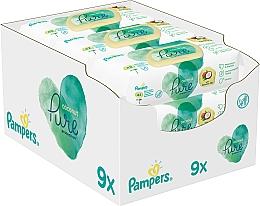 Kup Chusteczki nawilżane dla niemowląt, 9 x 42 szt. - Pampers Pure Coconut