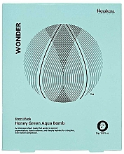 Kup Maska na tkaninie - Haruharu Wonder Honey Green Aqua Bomb Mask