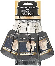 Kup Zestaw zapachów do samochodu - Yankee Candle Car Jar Midsummers Night