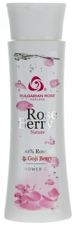 Żel pod prysznic z olejkiem różanym i jagodami goji - Bulgarian Rose Rose Berry Nature Shower Gel — фото N1