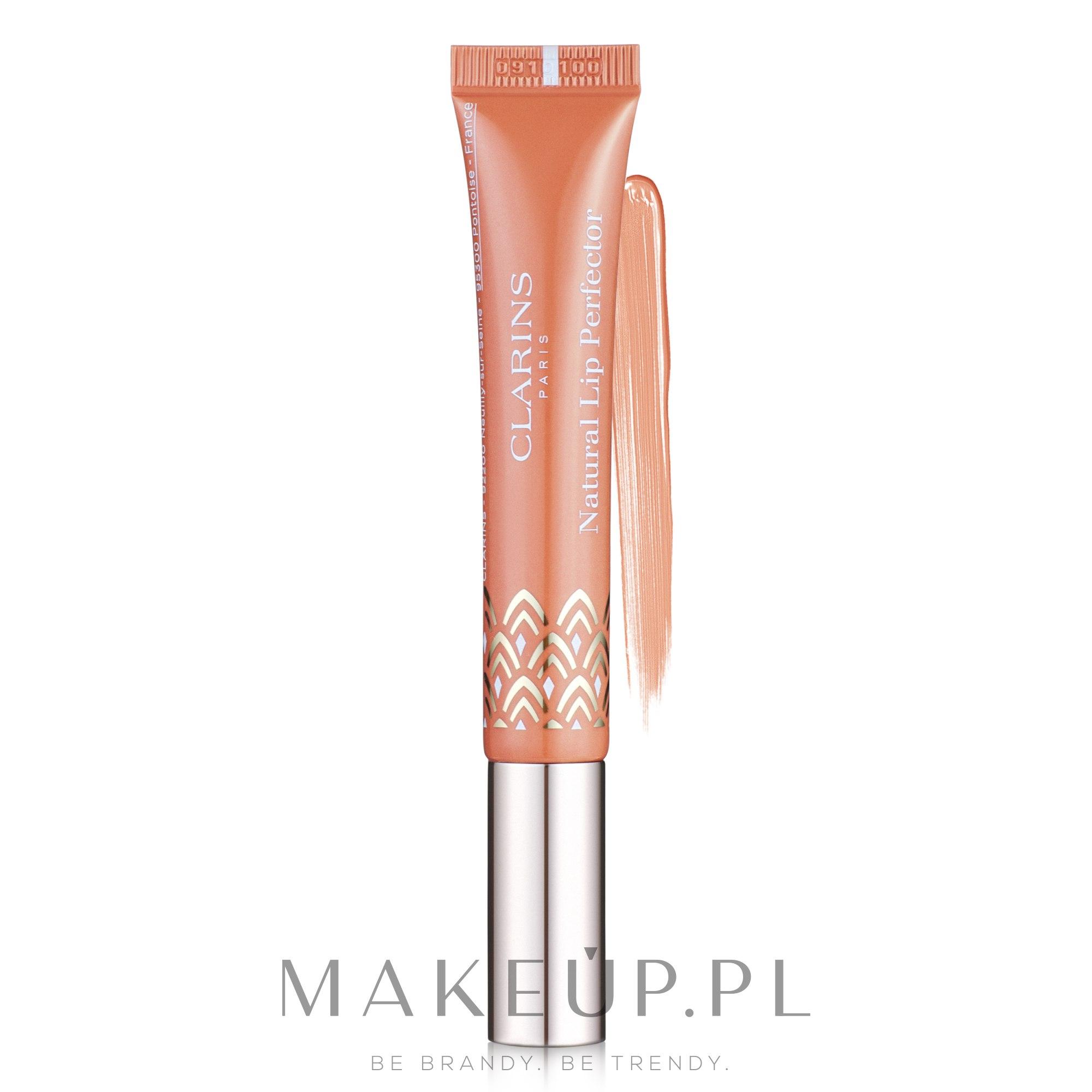 Odżywczy błyszczyk do ust - Clarins Instant Light Natural Lip Perfector — фото 02 - Apricot Shimmer