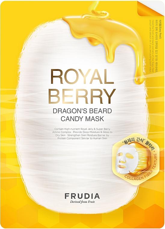 Maseczka do twarzy w płachcie Miód i mleczko pszczele - Frudia Royal Berry Dragon's Beard Candy Mask — фото N1