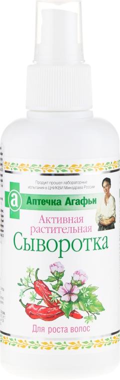 Aktywne serum ziołowe na porost włosów - Receptury Babci Agafii Apteczka Agafii