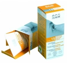 Kup Przeciwsłoneczny krem SPF 15 z wyciągiem z granatu i rokitnika - Eco Cosmetics Suntan Cream SPF 15