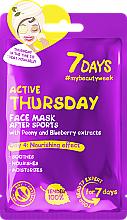 Kup Odżywcza maseczka do twarzy - 7 Days Active Thursday