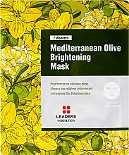 Kup Rozświetlająca maska do twarzy - Leaders 7 Wonders Mediterranean Olive Brightening Mask