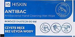 Kup Antybakteryjne chusteczki do rąk - HiSkin Antibac Antibacterial Hand Cleaning Wet Wipe