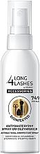 Kup Antybakteryjny spray do dezynfekcji akcesoriów kosmetycznych - Long4Lashes Antibacterial Disinfected Accessories Spray 74% Alcohol