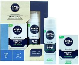Kup Zestaw - Nivea for Men Shave Master Gift Set (sh/foam/200ml+post/shave/balm/100ml)
