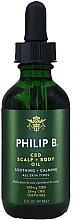 Kup Olejek CBD do skóry głowy i ciała - Philip B CBD Scalp + Body Oil