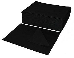 Kup Ręczniki jednorazowe, 50 szt., czarne - Ronney Professional Hairdressing Towel Basic Black