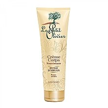 Kup Odżywczy krem do ciała z olejem arganowym - Le Petit Olivier Organic Care With Argan Oil