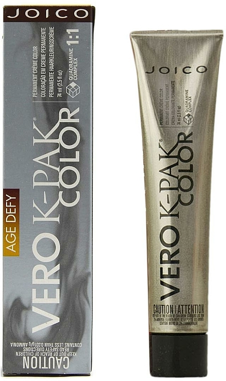 Farba do włosów - Joico Vero K-Pak Age Defy Color Permanent Cream Color — фото N2