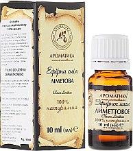 Kup 100% naturalny olejek limonkowy - Aromatika