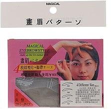 Kup Szablon do makijażu brwi, rozmiar A5, A6, A7, A8 - Magical Eyebrow Style
