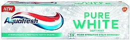 Wybielająca pasta do zębów Łagodna mięta - Aquafresh Pure White Soft Mint — фото N1