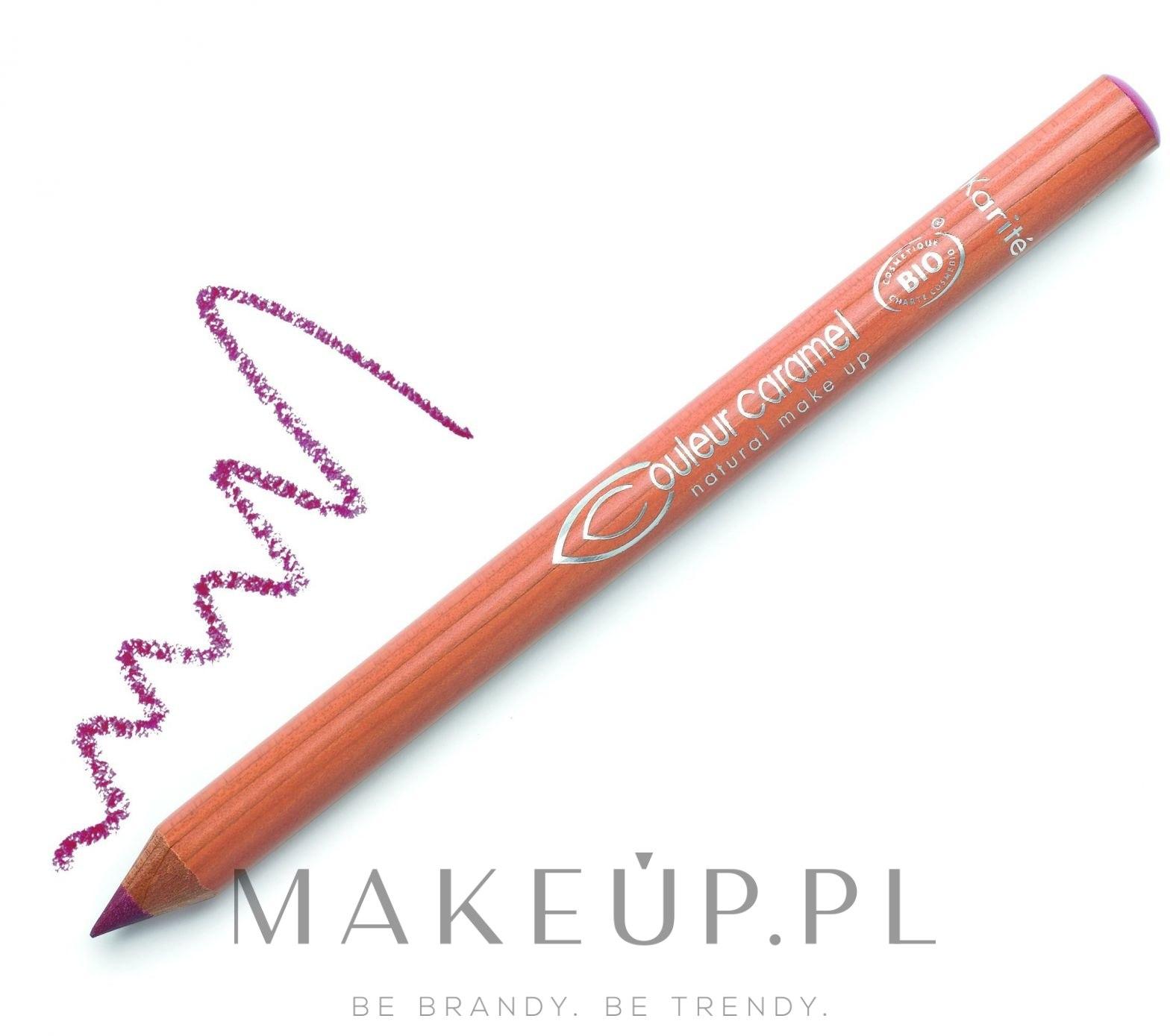 Pielęgnująca kredka do ust - Couleur Caramel Lip Pencil — фото 119 - Perłowy palisander