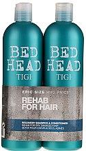 Kup Zestaw regenerujący do włosów - Tigi Bed Head Rehab For Hair (shm 750 ml + cond 750 ml)