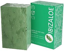 Kup Mydło rozmarynowe w kostce - Ibizaloe Aloe Vera Soap Romero