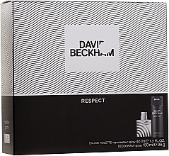 Kup David Beckham Respect - Zestaw (edt 40 ml + deo 150 ml)