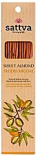 Kup Naturalne indyjskie kadzidła Słodki migdał - Sattva Sweet Almond
