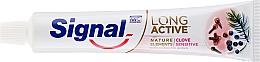 Pasta do zębów - Signal Long Active Nature Elements Clove Sensitive — фото N2