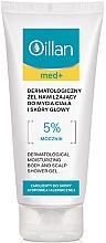 Kup Dermatologiczny żel nawilżający do mycia ciała i skóry głowy - Oillan Med+ Moisturizing Body And Scalp Shower Gel