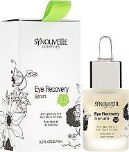 Kup PRZECENA! Regenerujące serum przeciwstarzeniowe pod oczy - Synouvelle Cosmectics Eye Recovery Serum Anti-Wrinkle Lift Anti-Dark Circles *