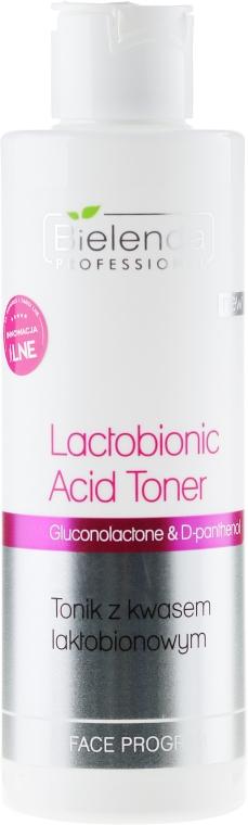 Tonik z kwasem laktobionowym - Bielenda Professional Program Face lactobionic Acid Toner — фото N1