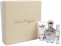 Kup Salvatore Ferragamo Amo - Zestaw (edp 100 ml + edp 10 ml + b/lot 50 ml)