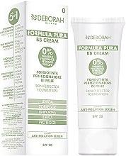 Kup Naturalny krem BB do twarzy SPF 20 - Deborah Formula Pura BB Cream 5 In 1