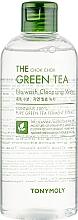 Kup Nawilżająco-oczyszczająca woda do twarzy - Tony Moly The Chok Chok Green Tea No-Wash Cleansing Water