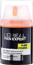 Nawilżający żel-krem dla mężczyzn przeciw niedoskonałościom skóry - L'Oreal Paris Men Expert Pure Power — фото N2