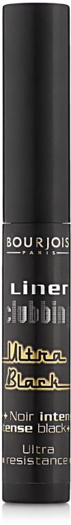 Eyeliner w płynie - Bourjois Liner Clubbing Ultra Black — фото N1